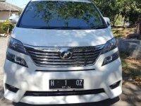 Toyota Vellfire 2011 dijual cepat
