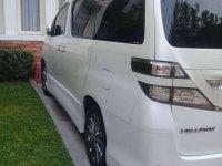 Jual Toyota Vellfire 2012 harga baik