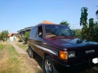 Toyota Kijang 1989 bebas kecelakaan