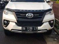 Jual Toyota Fortuner 2017 harga baik