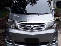 Toyota Alphard V dijual cepat