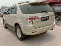 Toyota Fortuner V bebas kecelakaan