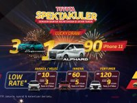 Ingin Berburu Toyota? Promo Akhir Tahun Toyota Berikan DP Rendah dan Lucky Draw