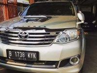 Toyota Fortuner G 4x4 VNT bebas kecelakaan