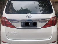Butuh uang jual cepat Toyota Alphard 2013