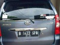 Toyota Avanza 2009 bebas kecelakaan