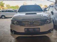 Jual Toyota Fortuner 2013 Manual