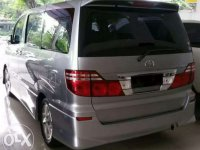 Toyota Alphard 2006 bebas kecelakaan