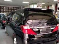Toyota Alphard 2014 bebas kecelakaan