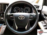 Toyota Alphard X dijual cepat