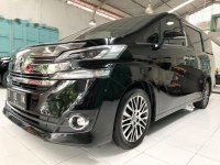Toyota Vellfire G bebas kecelakaan