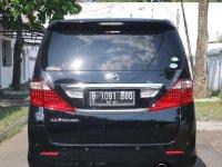 Jual Toyota Alphard 2011, KM Rendah