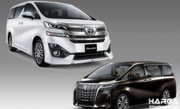 Ketahui Beberapa Perbedaan Toyota Vellfire Vs Alphard
