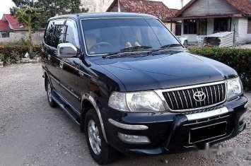 Toyota Kijang Lgx Thn 2004 M T Diesel Hitam Metalik 40885