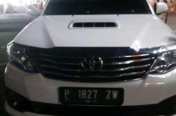 Toyota Fortuner G TRD dijual cepat 387416