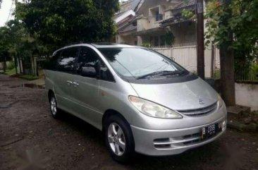 Dijual Mobil Toyota Previa Standard Tahun 2001