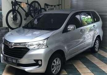 Jual Toyota Avanza E MT 2016 Sliver