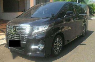 Toyota Alpahard SC package 2016
