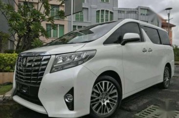 Toyota Alphard G AT 2017