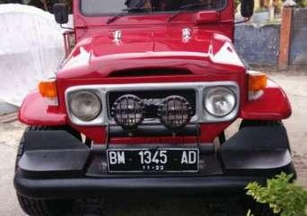 Toyota Hardtop diesel BJ 40 RV 1983