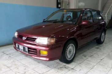 Toyota Starlet MT Tahun 1997 Manual