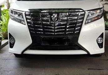 Toyota Alphard G AT Tahun 2017 Automatic