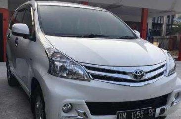 Toyota Avanza G  Tahun 2014 Manual