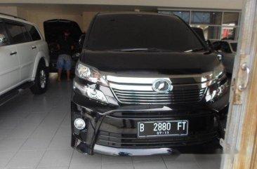 Toyota Vellfire ZG 2013