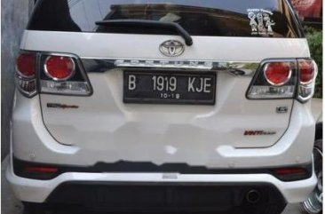 Jual Toyota Fortuner 2014 Manual