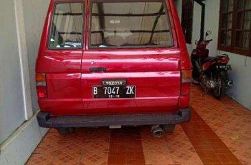Toyota Kijang 1986 dijual cepat