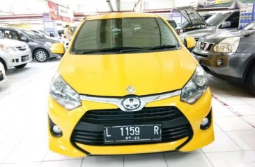 Jual Toyota Agya 2018 Automatic