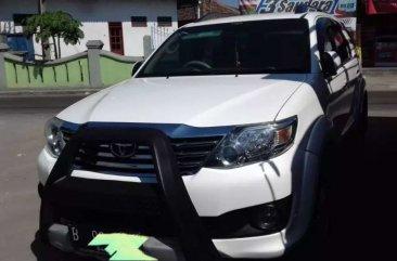 Toyota Fortuner G dijual cepat