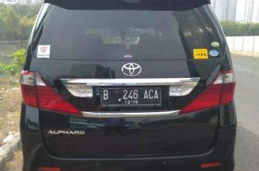 Jual Toyota Alphard 2009 harga baik