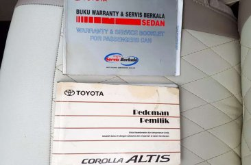 Jual Toyota Corolla Altis 2007 Manual