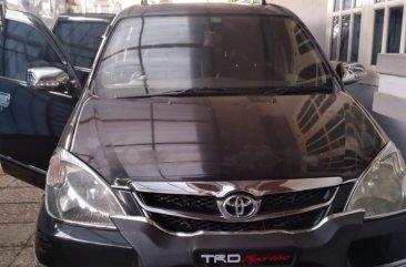 Toyota Avanza 1.3 G AT hitam setangan pribadi